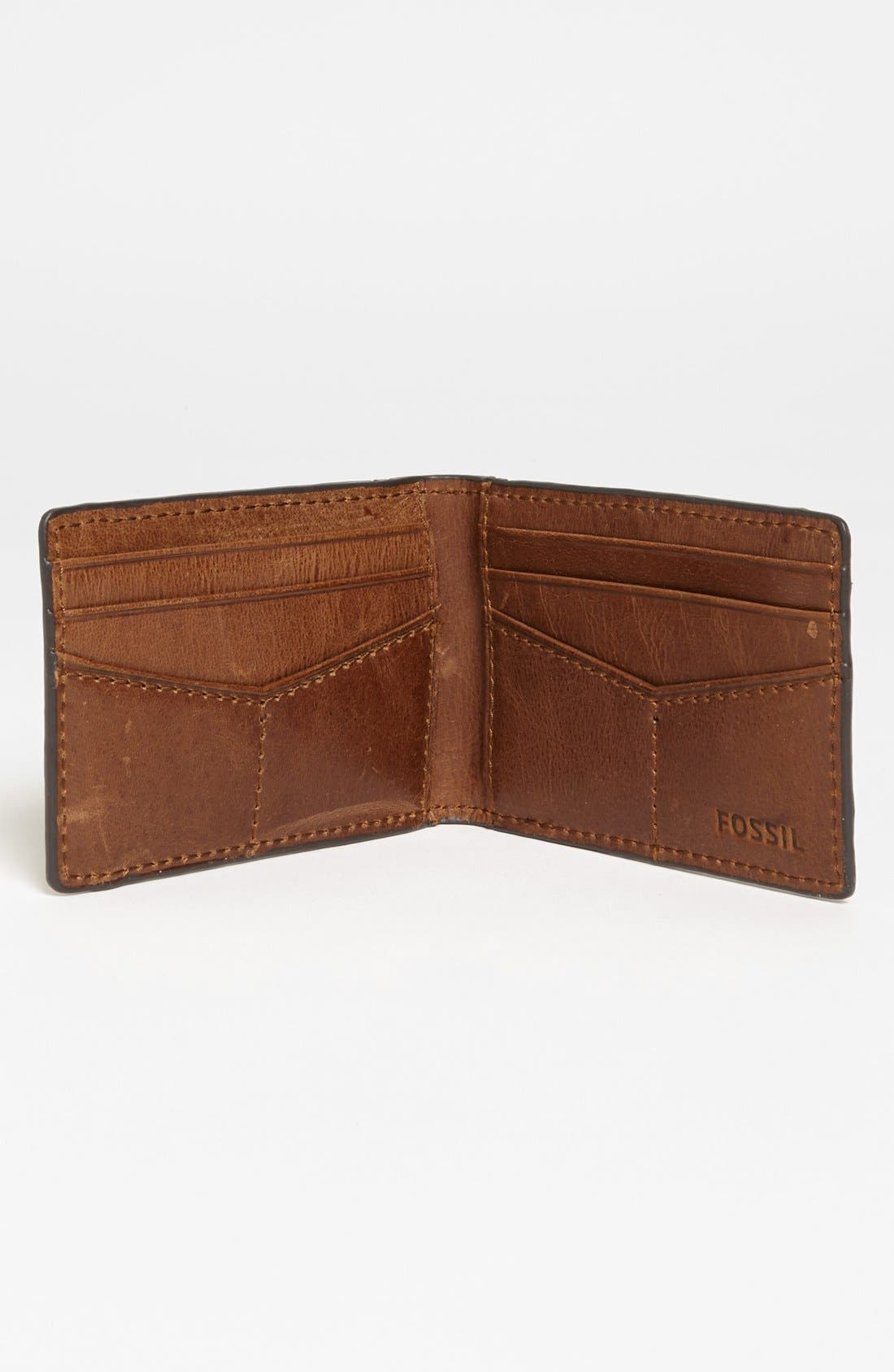 Alternate Image 2  - Fossil 'Nolan' Money Clip Wallet