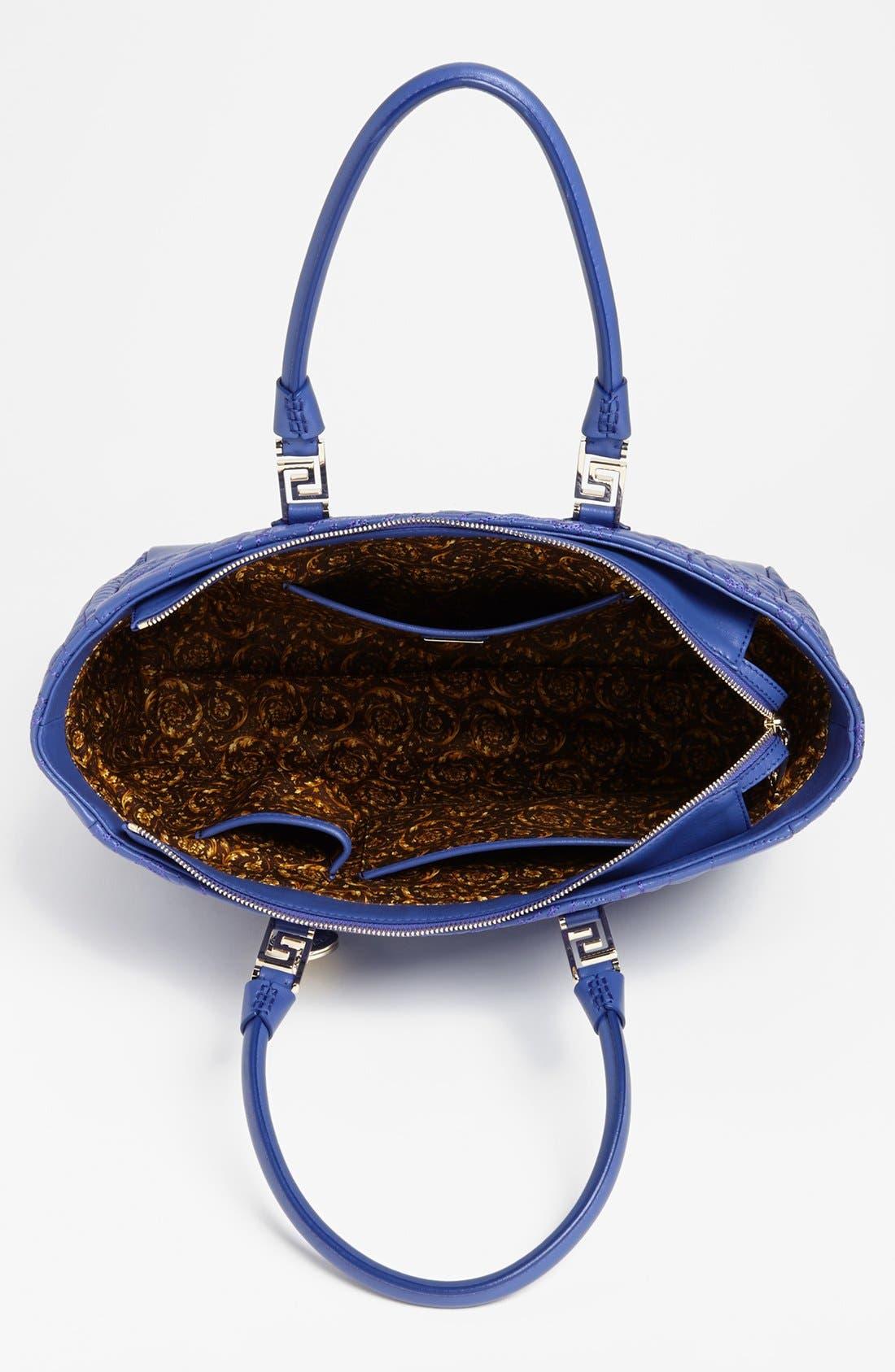 Alternate Image 3  - Versace 'Vanitas' Embroidered Leather Tote