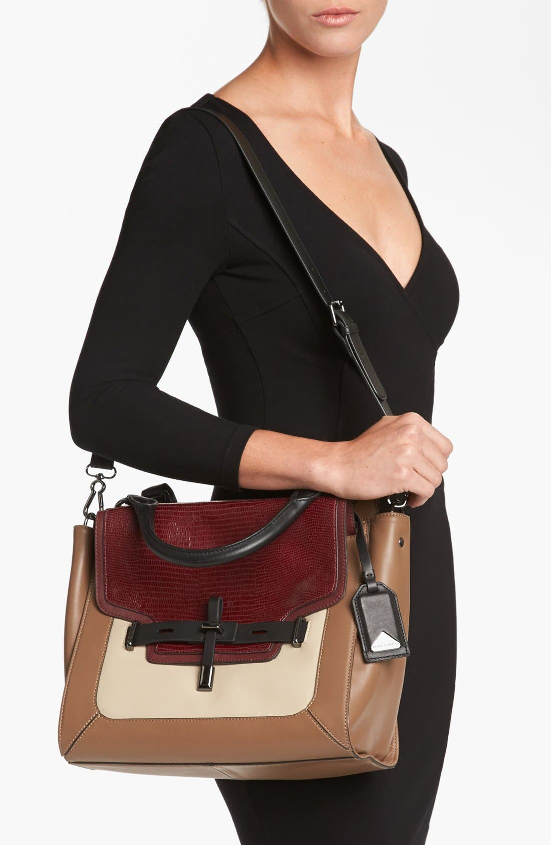 Alternate Image 2  - Vince Camuto 'Max' Leather Satchel, Medium