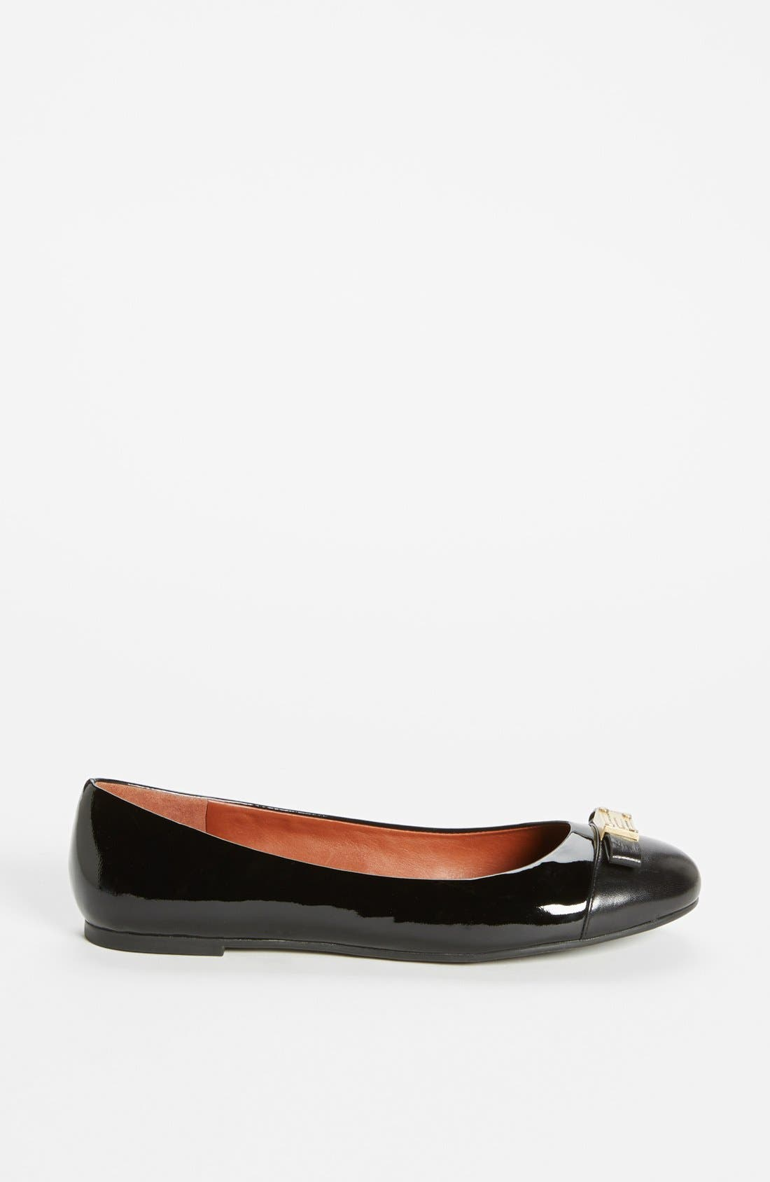 Alternate Image 4  - MARC BY MARC JACOBS 'Tuxedo' Logo Plaque Ballerina Flat