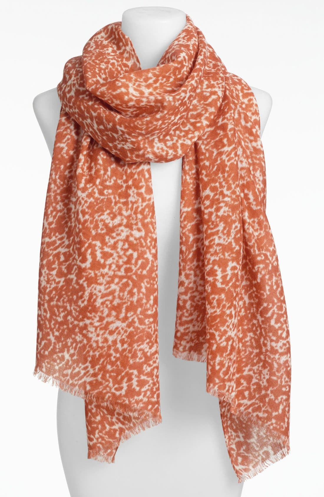 Alternate Image 1 Selected - MICHAEL Michael Kors Animal Print Wool Scarf