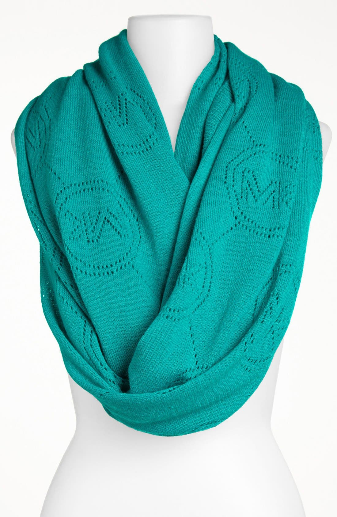 Alternate Image 1 Selected - MICHAEL Michael Kors 'Jet Set' Monogram Infinity Scarf