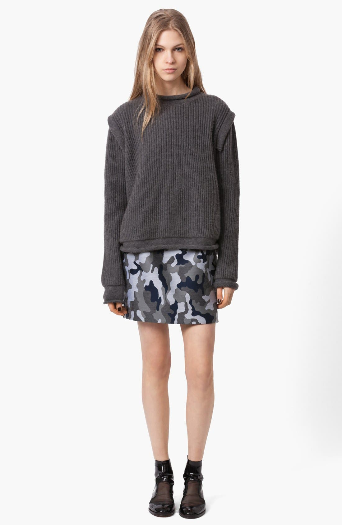 Alternate Image 2  - Christopher Kane Ribbed Cashmere Sweater