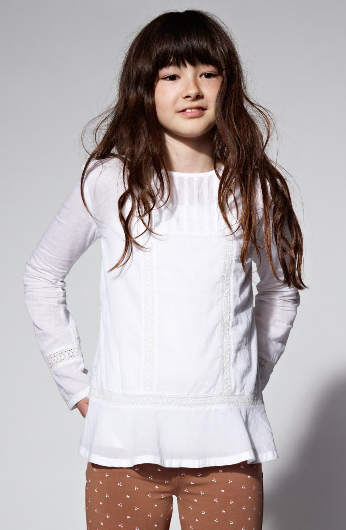 Main Image - Tucker + Tate 'Nicky' Woven Tunic (Big Girls)