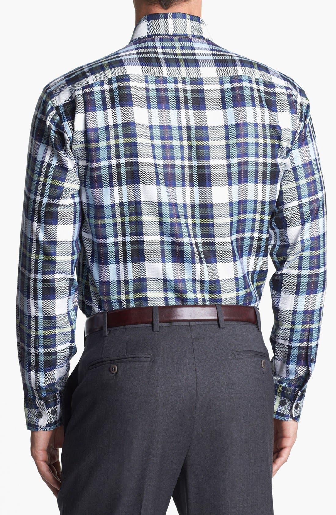 Alternate Image 2  - Robert Talbott Regular Fit Sport Shirt