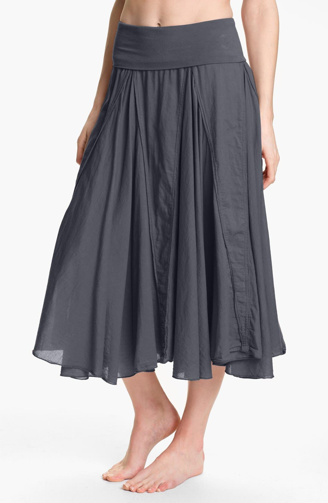 Alternate Image 1 Selected - Hard Tail 'Voile' Long Skirt