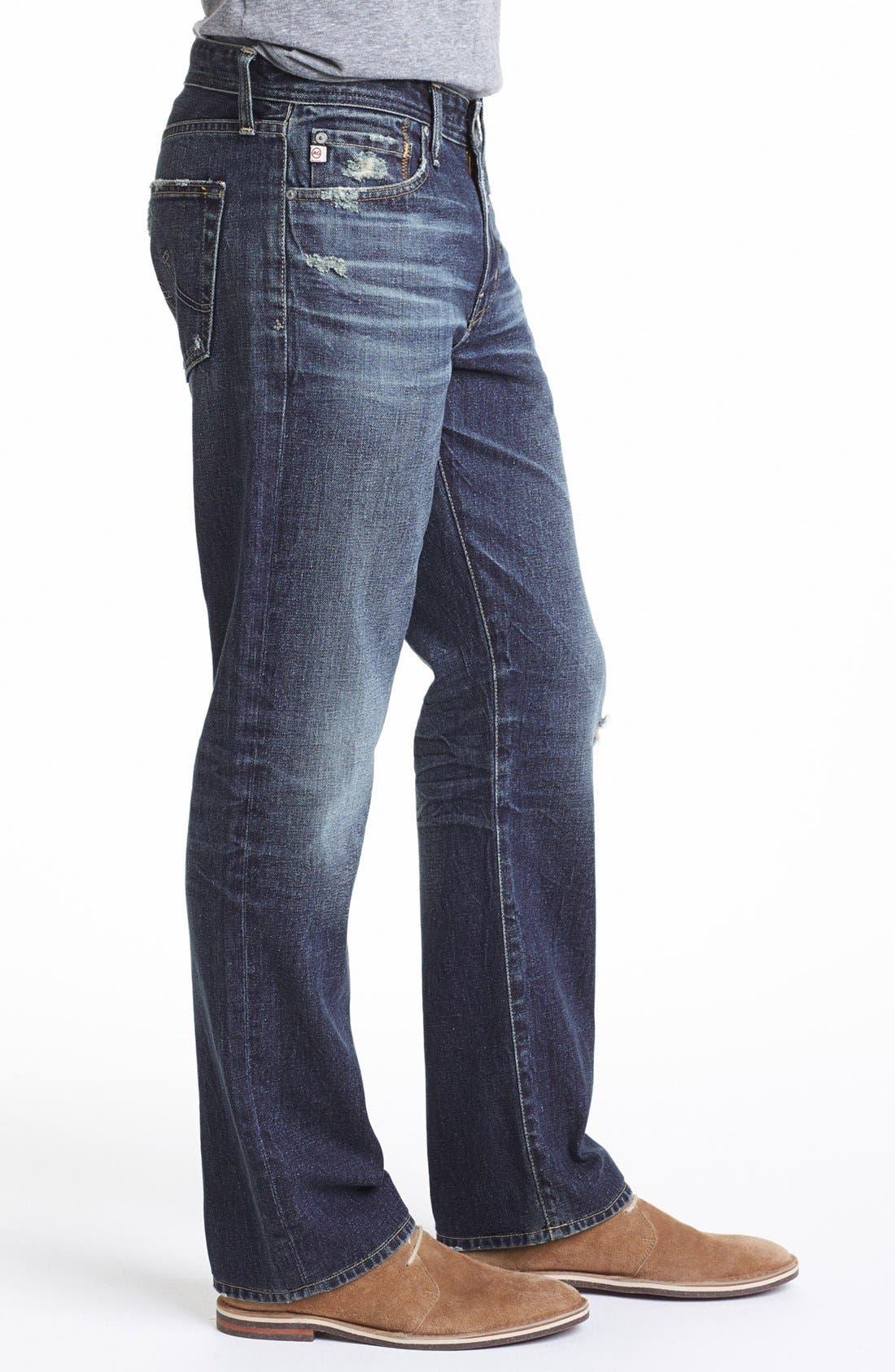 Alternate Image 3  - AG 'Protégé' Straight Leg Jeans (17-Years Original)