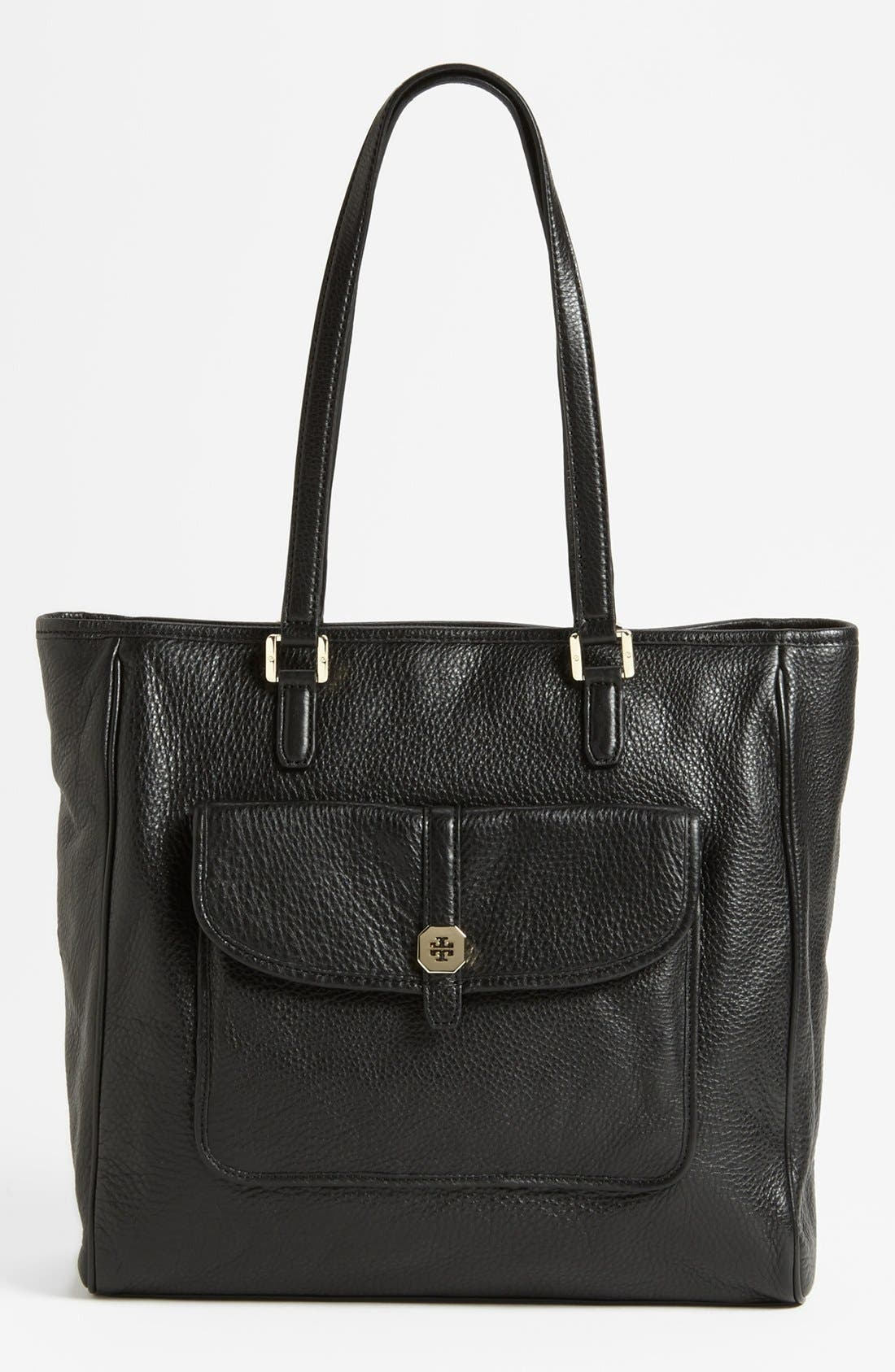 Main Image - Tory Burch 'Clay' Leather Tote, Large