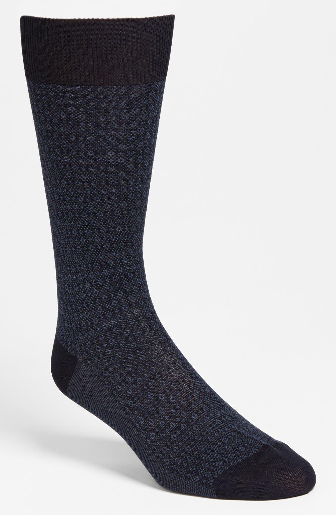 Alternate Image 1 Selected - Pantherella 'Fenchurch' Birdseye Socks