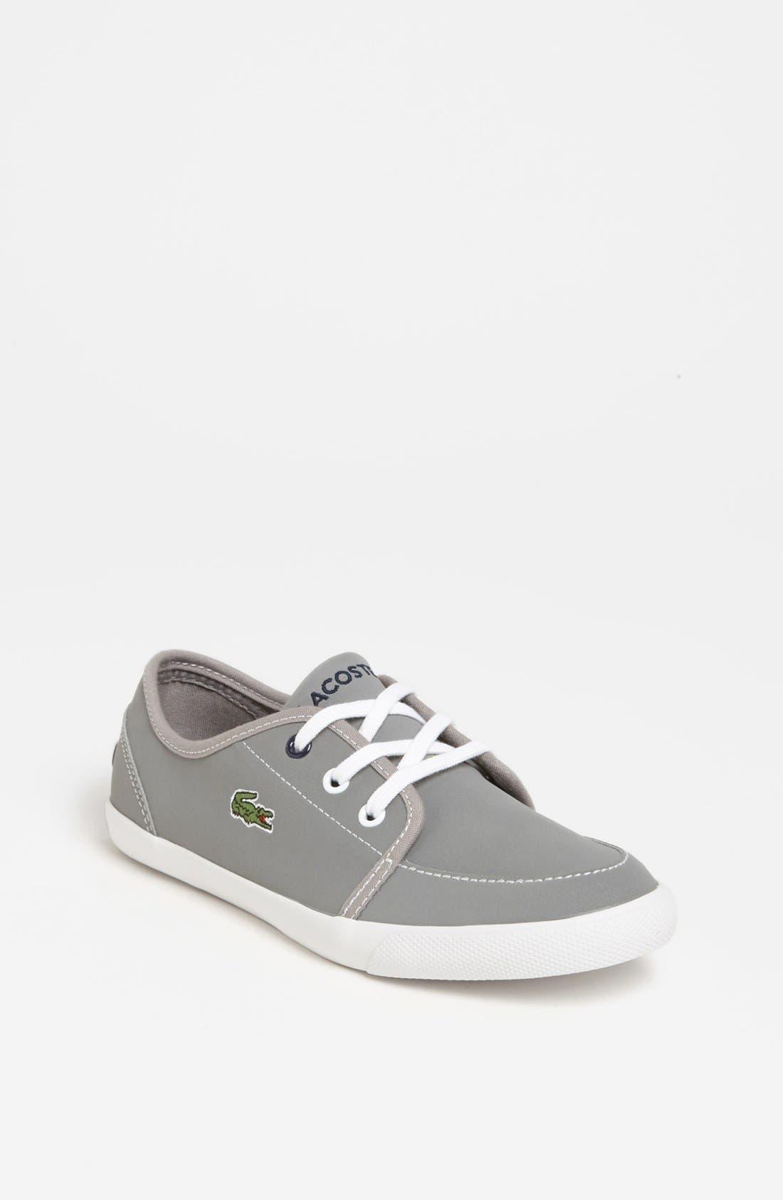 Main Image - Lacoste 'Boat DE' Sneaker (Little Kid & Big Kid)