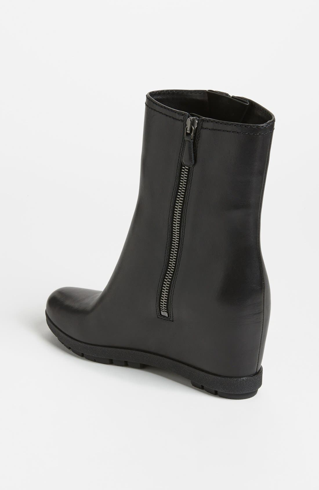 Alternate Image 2  - Prada Wedge Ankle Boot