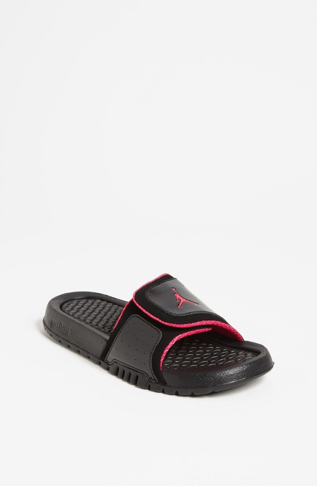 Alternate Image 1 Selected - Nike 'Jordan Hydro II' Sandal (Big Kid)