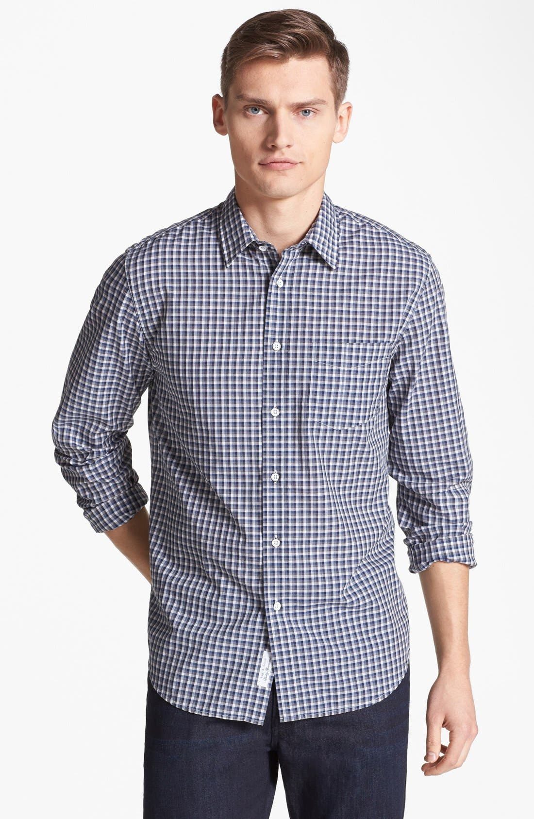 Alternate Image 1 Selected - rag & bone 'Yokohama' Plaid Woven Shirt