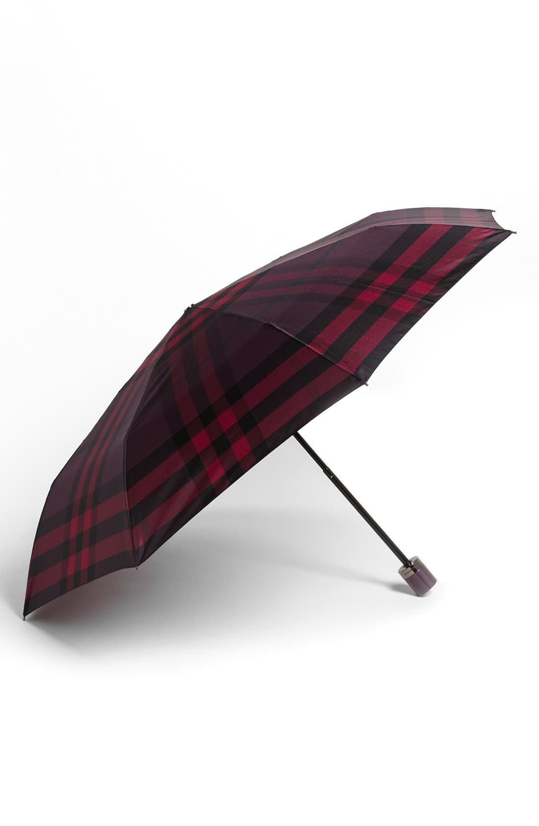 Alternate Image 1 Selected - Burberry London Compact Umbrella