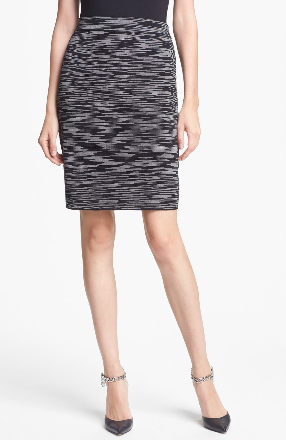 Alternate Image 1 Selected - M Missoni Space Dye Pencil Skirt