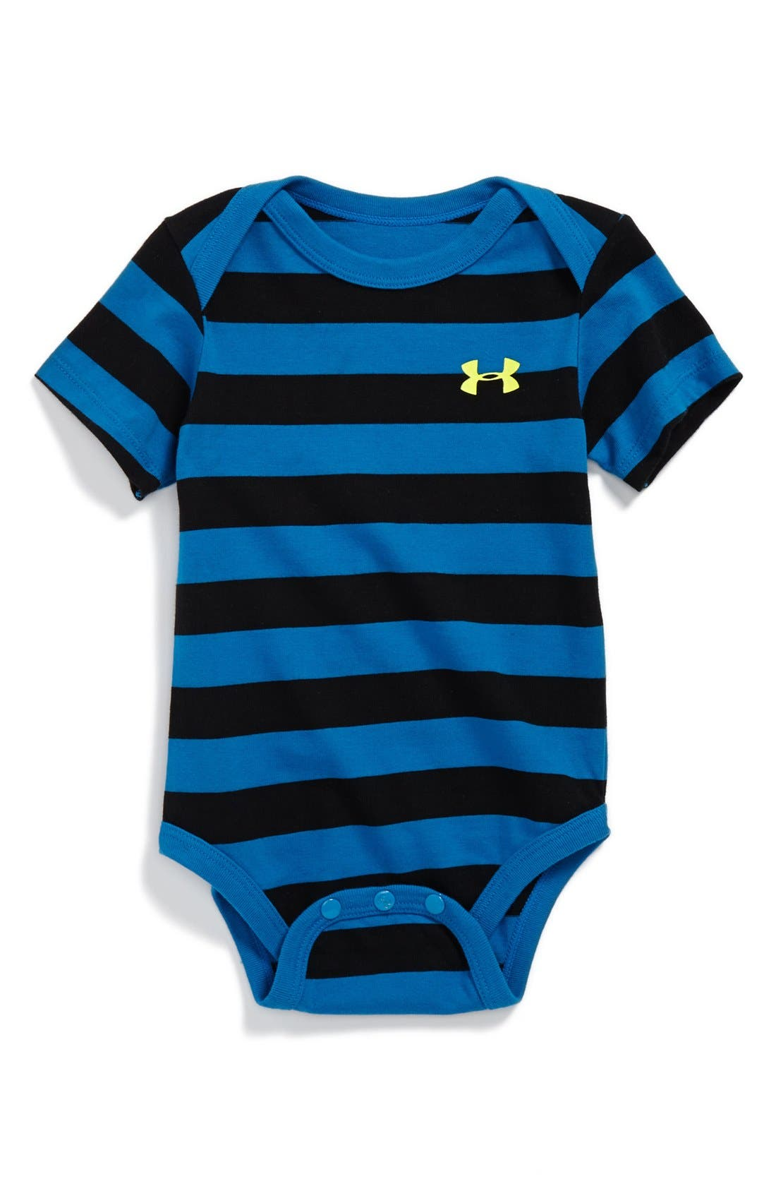 Main Image - Under Armour HeatGear® Bodysuit (Baby Boys)
