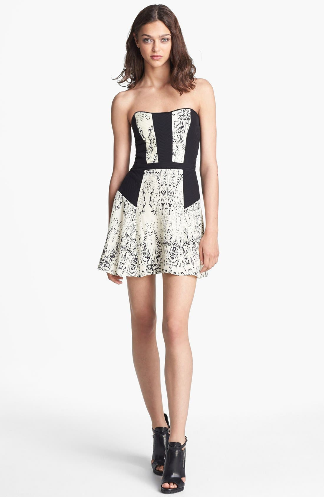 Alternate Image 1 Selected - Parker 'Mara' Silk Minidress