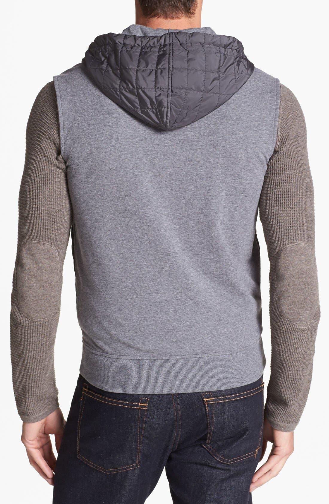 Alternate Image 2  - Michael Kors Quilted Hooded Vest