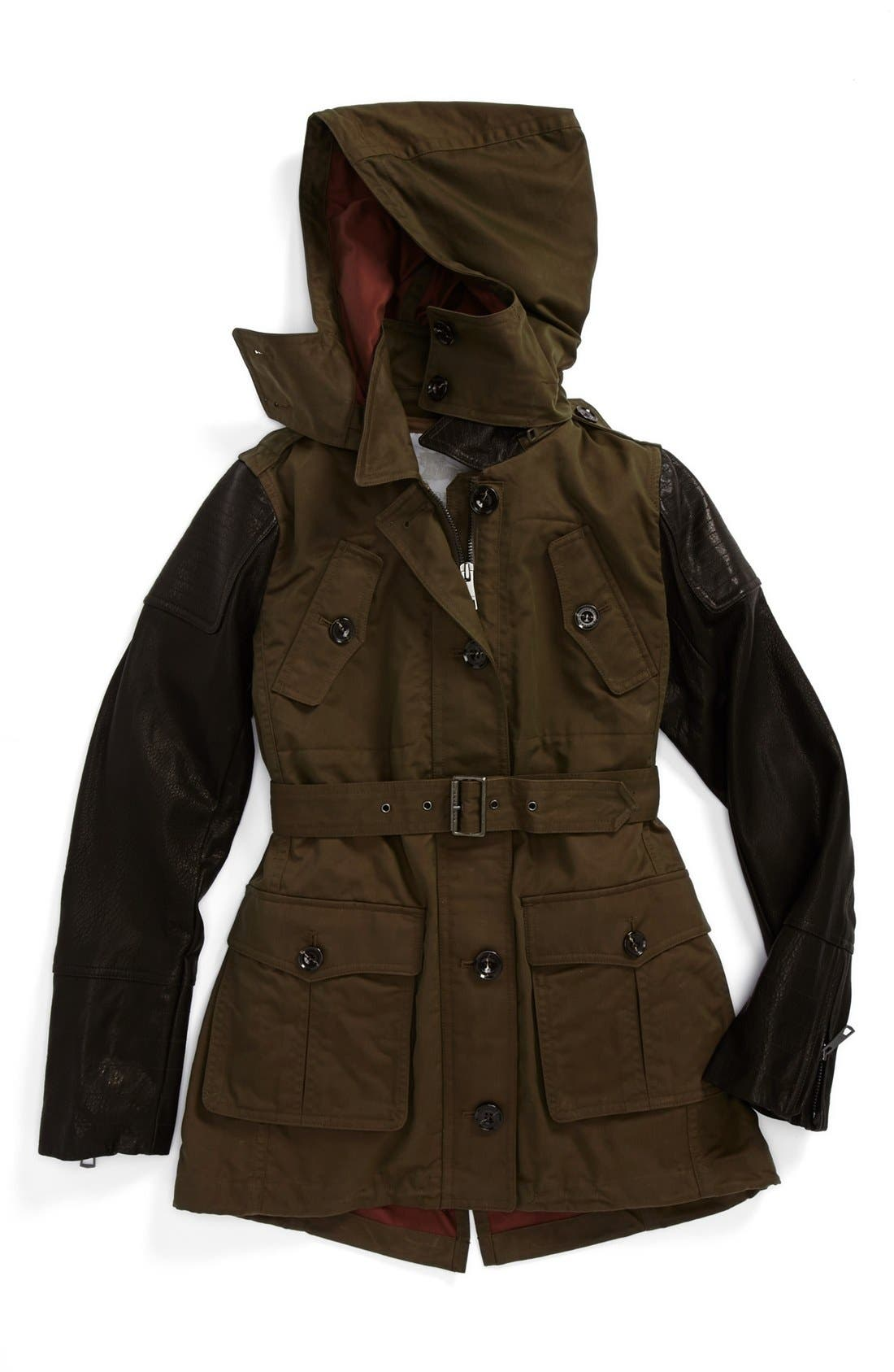 Alternate Image 1 Selected - Burberry 'Nickleton' Jacket (Little Girls & Big Girls)