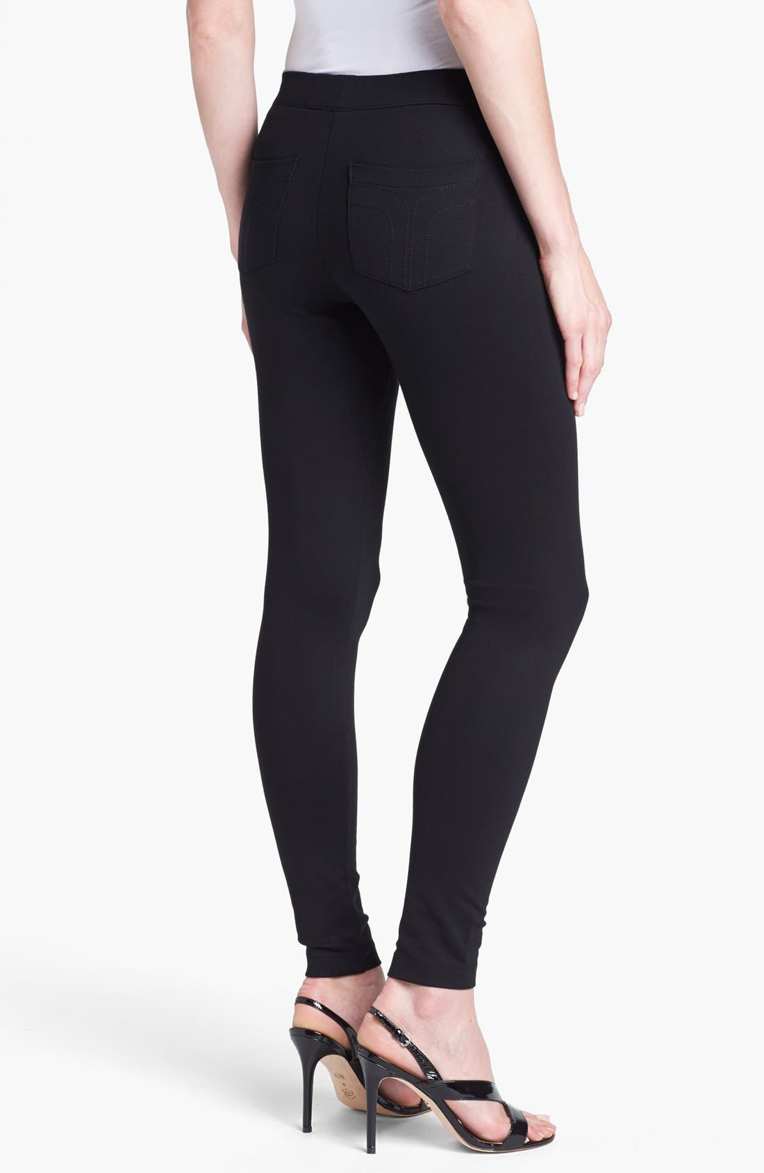 Alternate Image 2  - Trina Turk Ponte Leggings