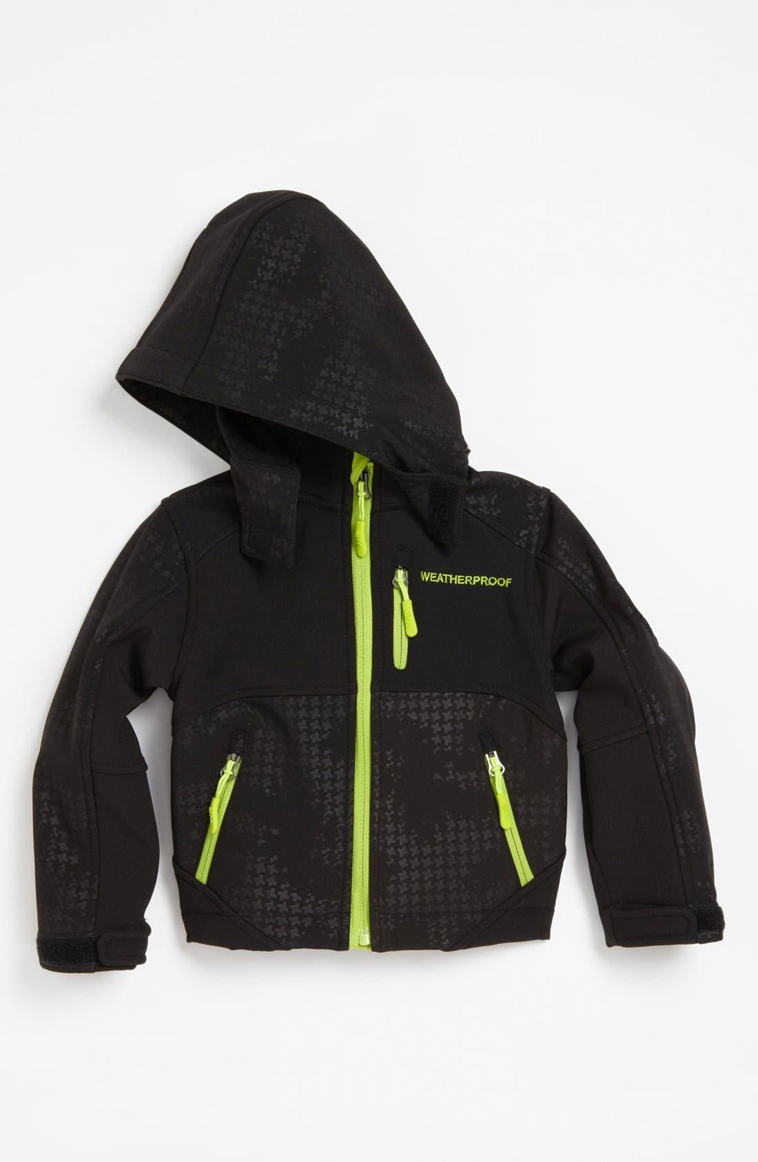 Main Image - Weatherproof® Shell Jacket (Toddler Boys)