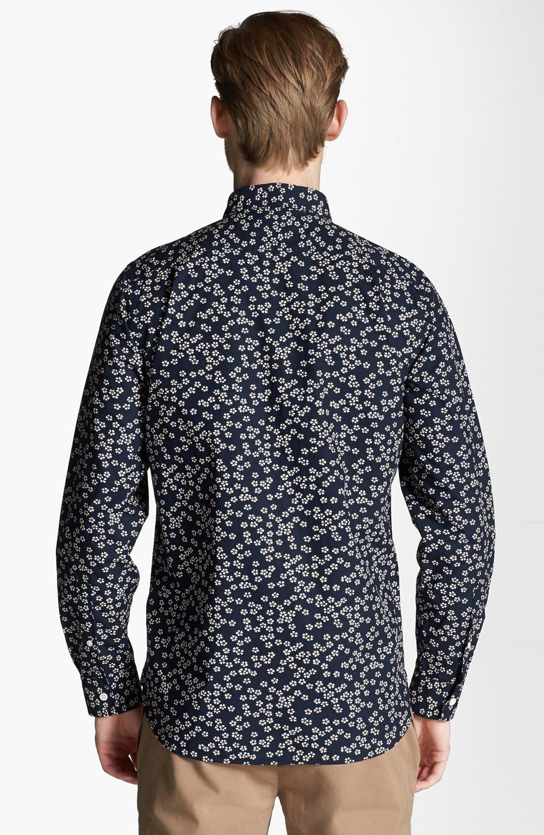 Alternate Image 2  - Jack Spade 'Foley' Floral Print Woven Shirt