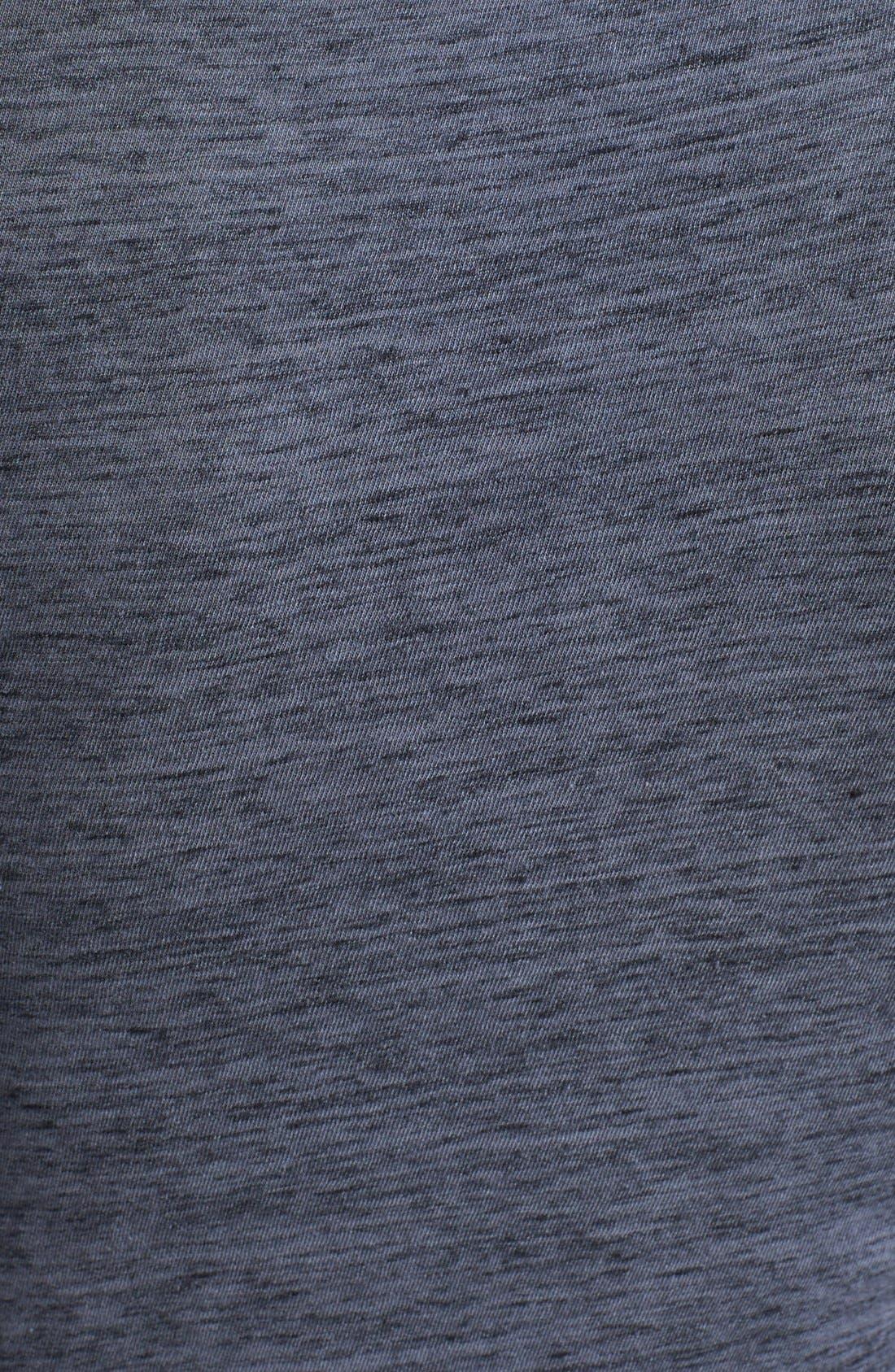 Alternate Image 3  - James Perse Jewel Neck Dress
