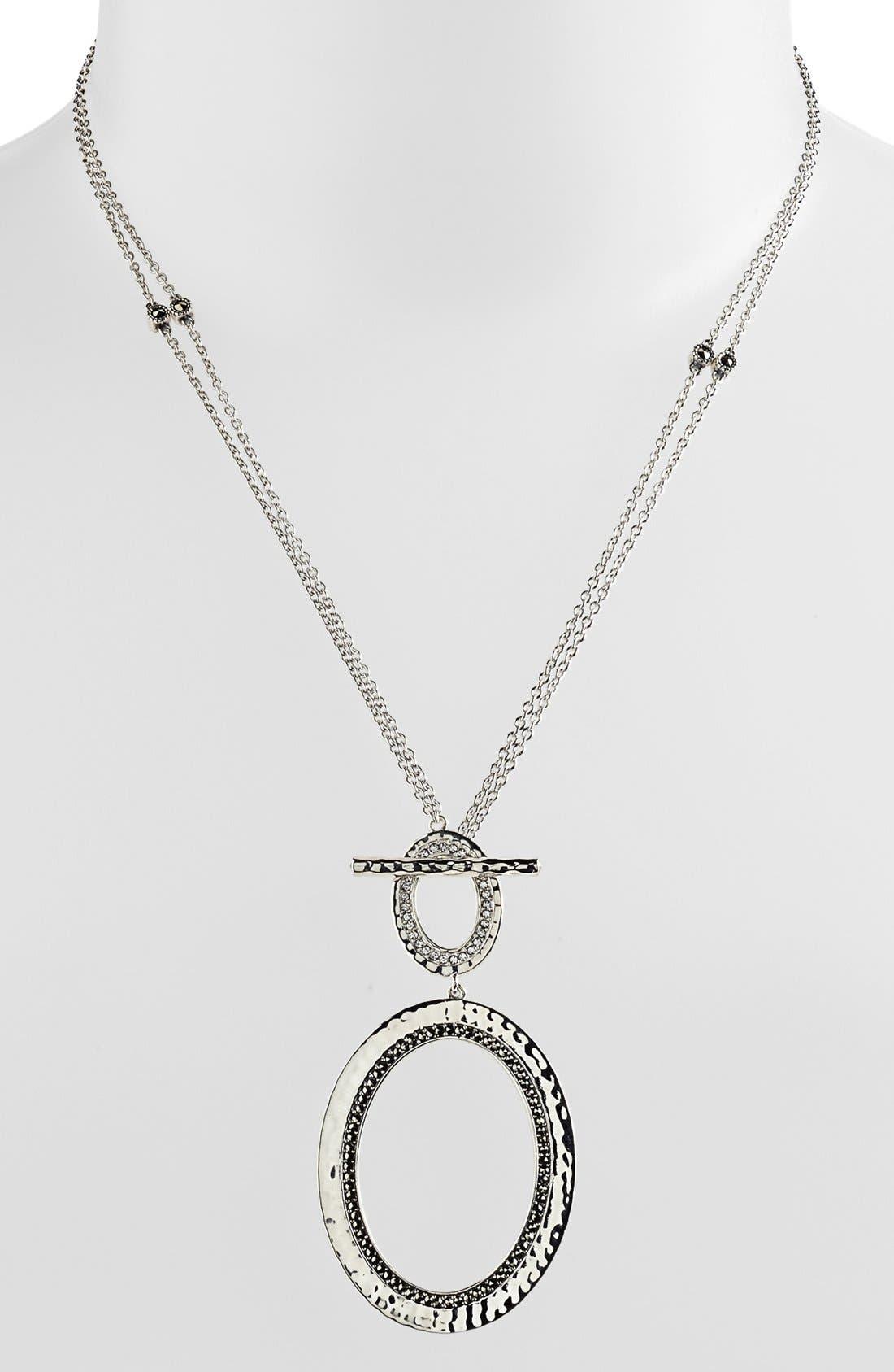 Alternate Image 2  - Judith Jack 'Halo' Convertible Pendant Necklace