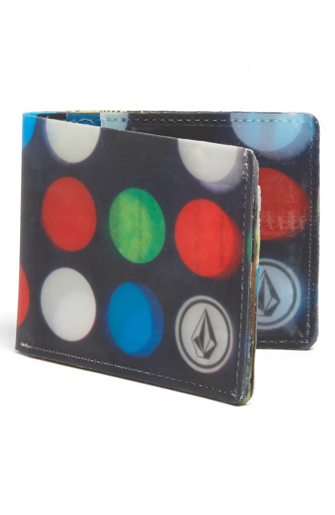 Alternate Image 1 Selected - Volcom 'Dot Mess' Wallet (Boys)