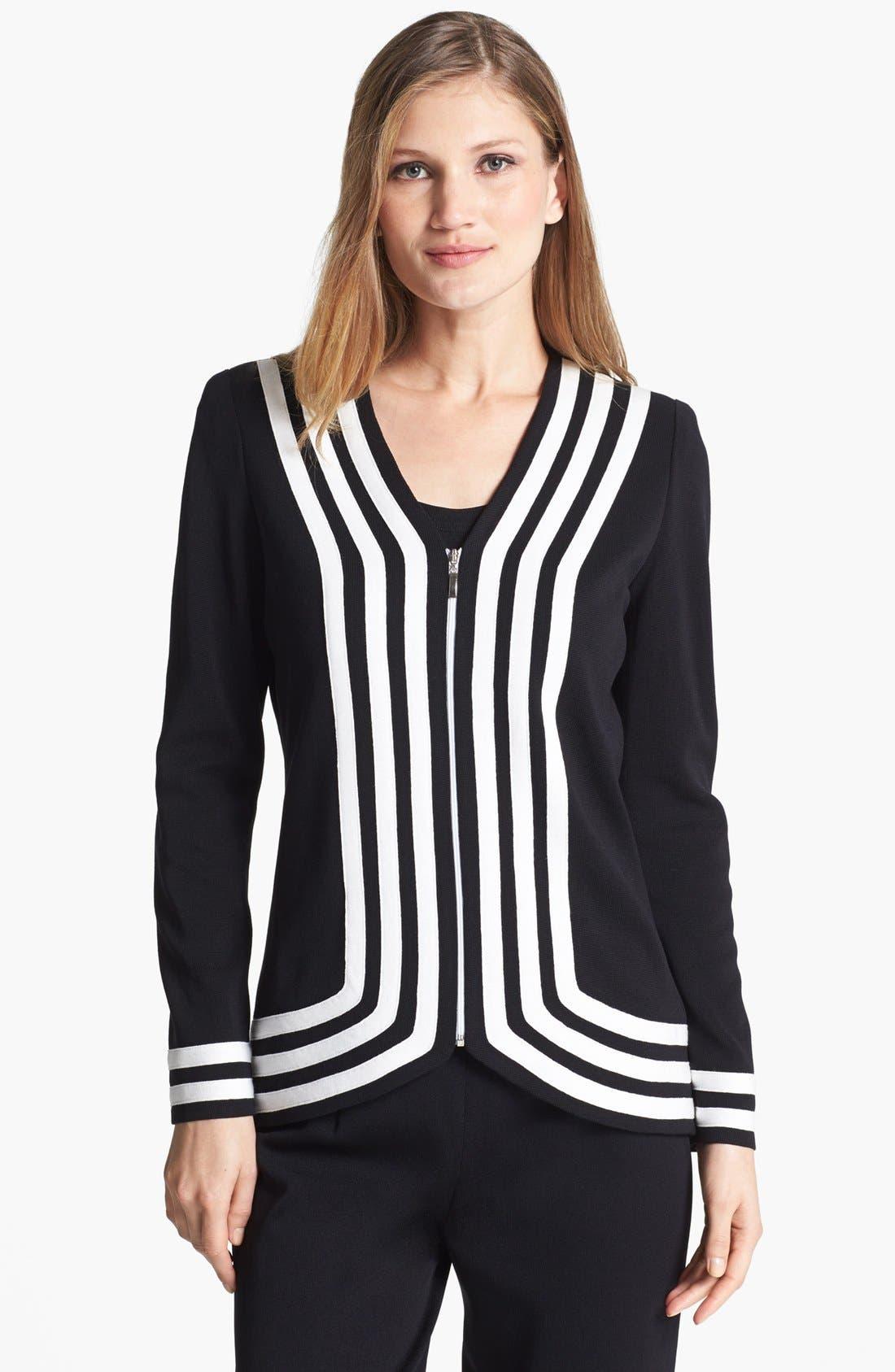 Main Image - Misook 'Bianca' Knit Jacket