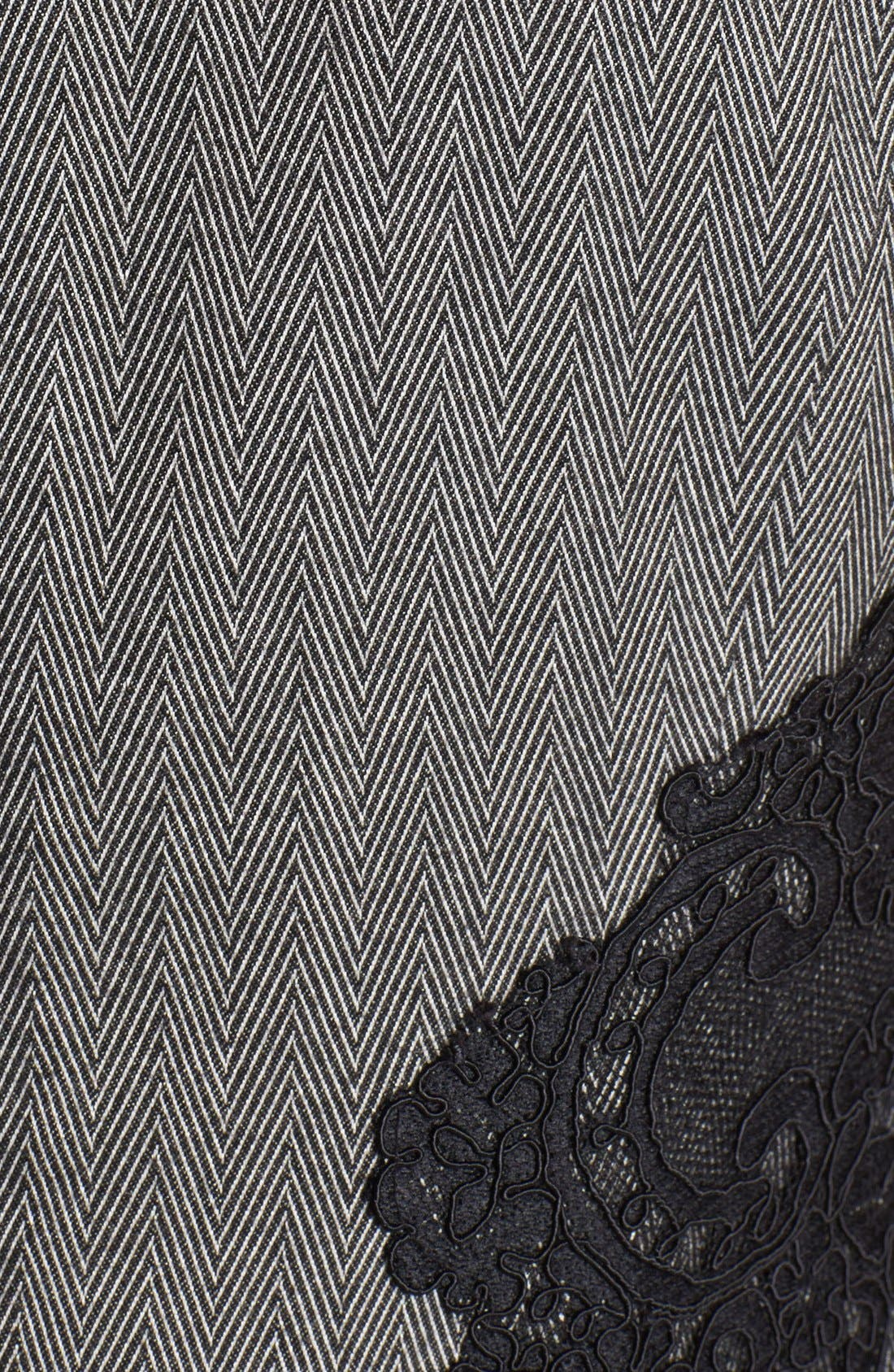 Alternate Image 3  - Adrianna Papell Lace Appliqué Sheath Dress