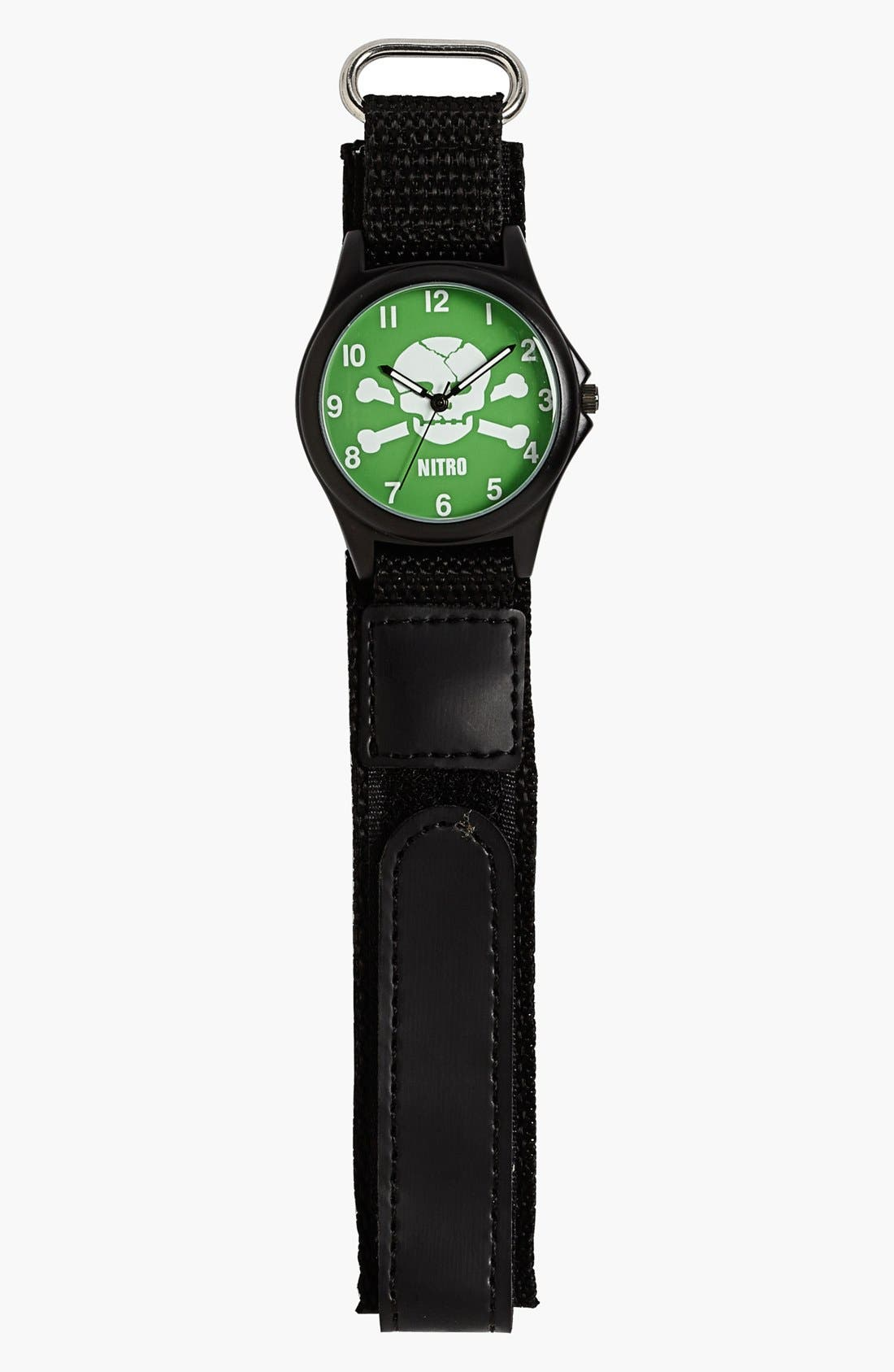 Alternate Image 1 Selected - Nitro 'Skull' Watch (Boys)