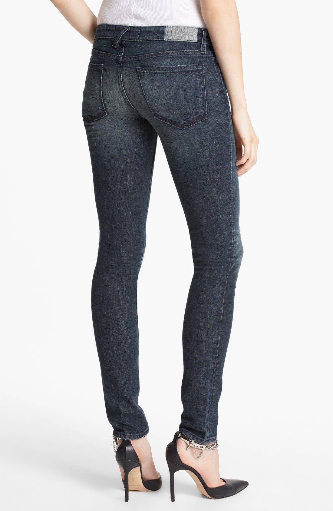 Alternate Image 2  - TEXTILE Elizabeth and James 'Kate' Skinny Jeans