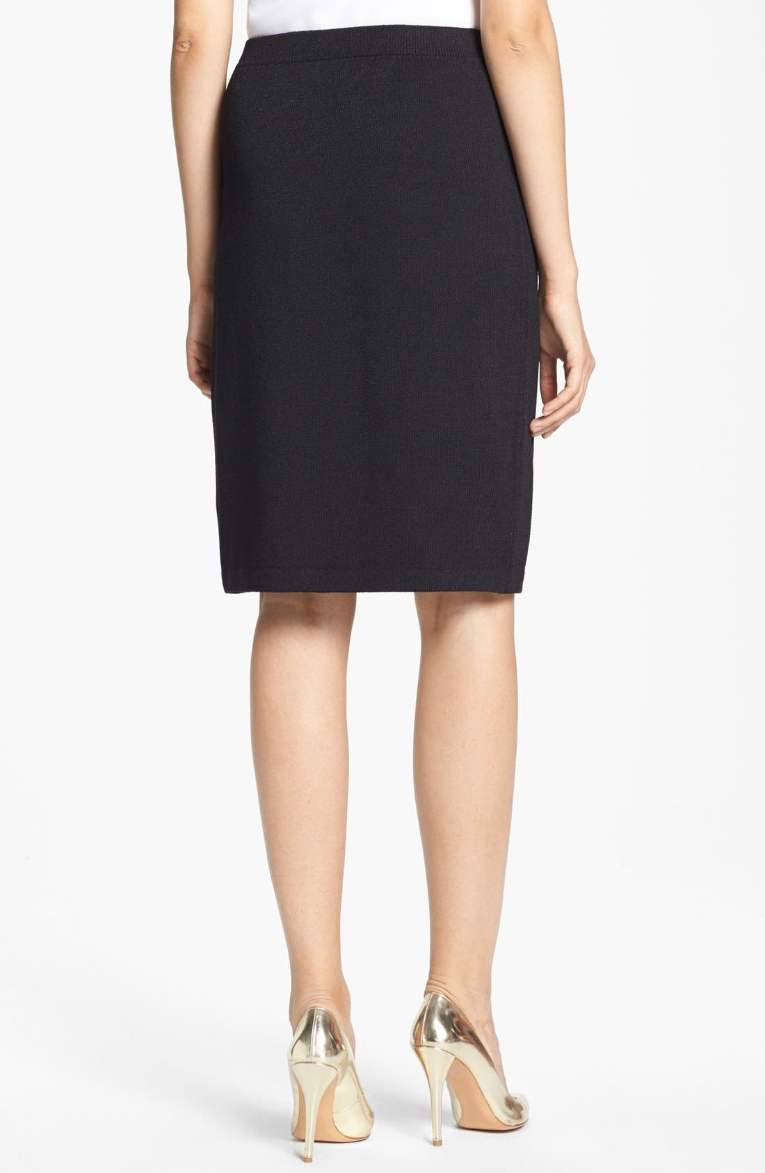 Alternate Image 2  - St. John Collection Santana Knit Skirt