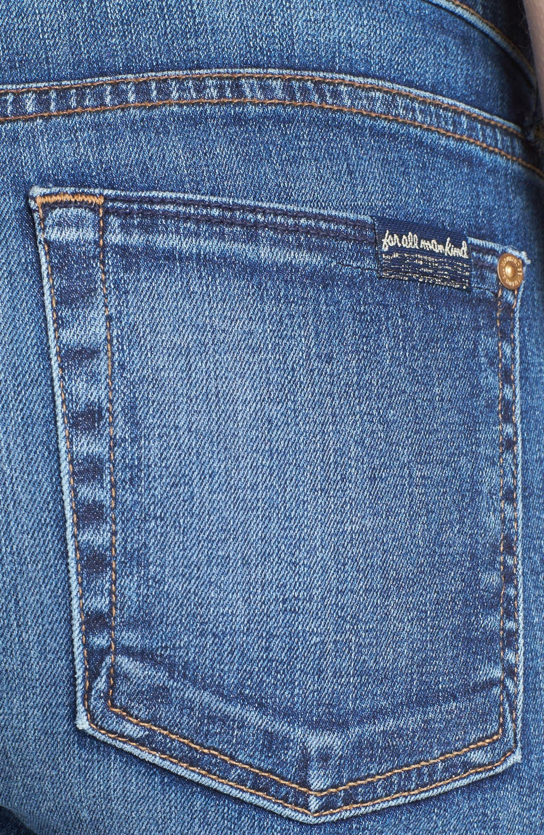 Alternate Image 3  - 7 For All Mankind® 'The Skinny' Bootcut Jeans (Rue de Lille)