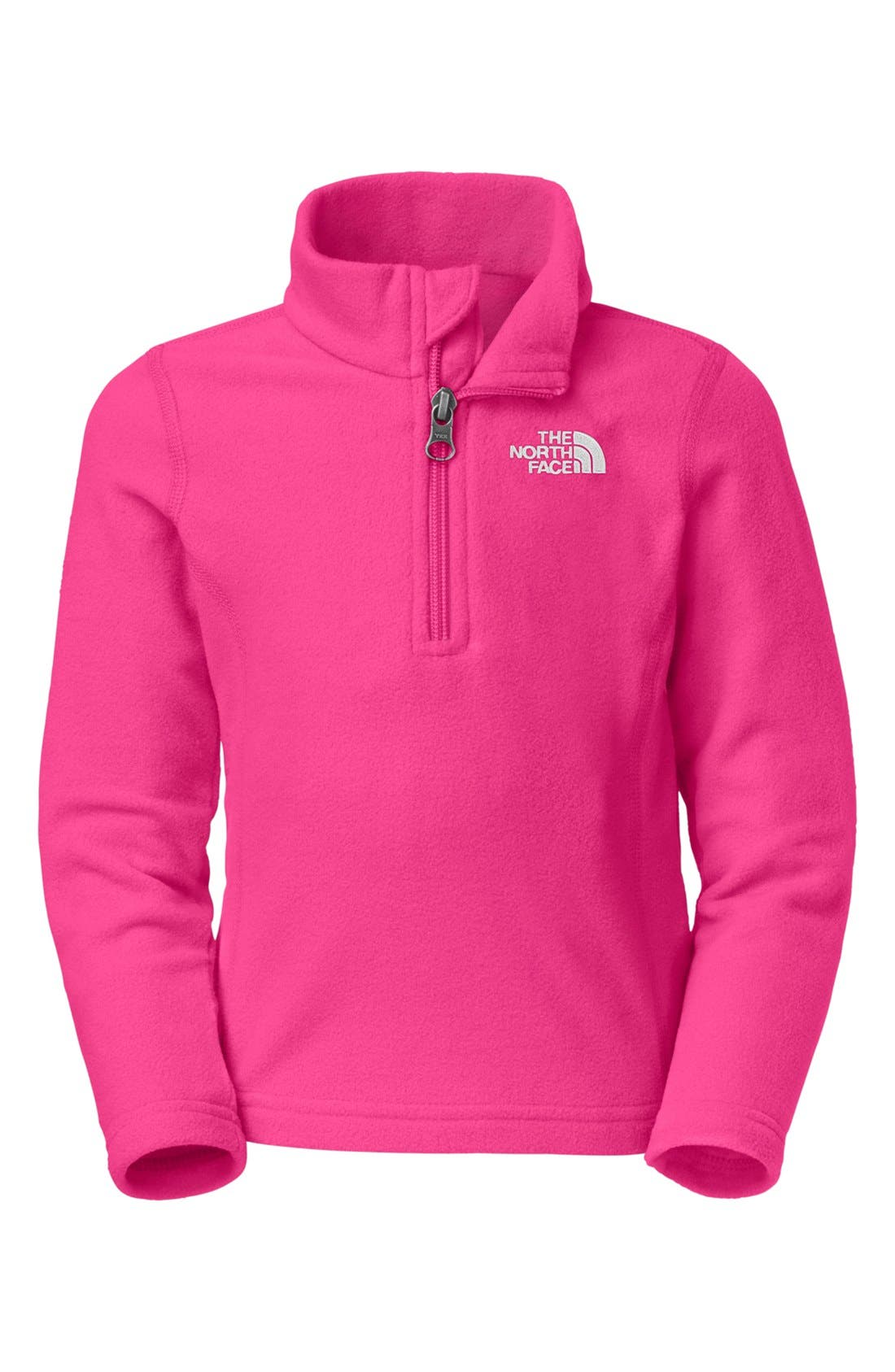 Main Image - The North Face 'Glacier' Quarter Zip Pullover (Toddler Girls)