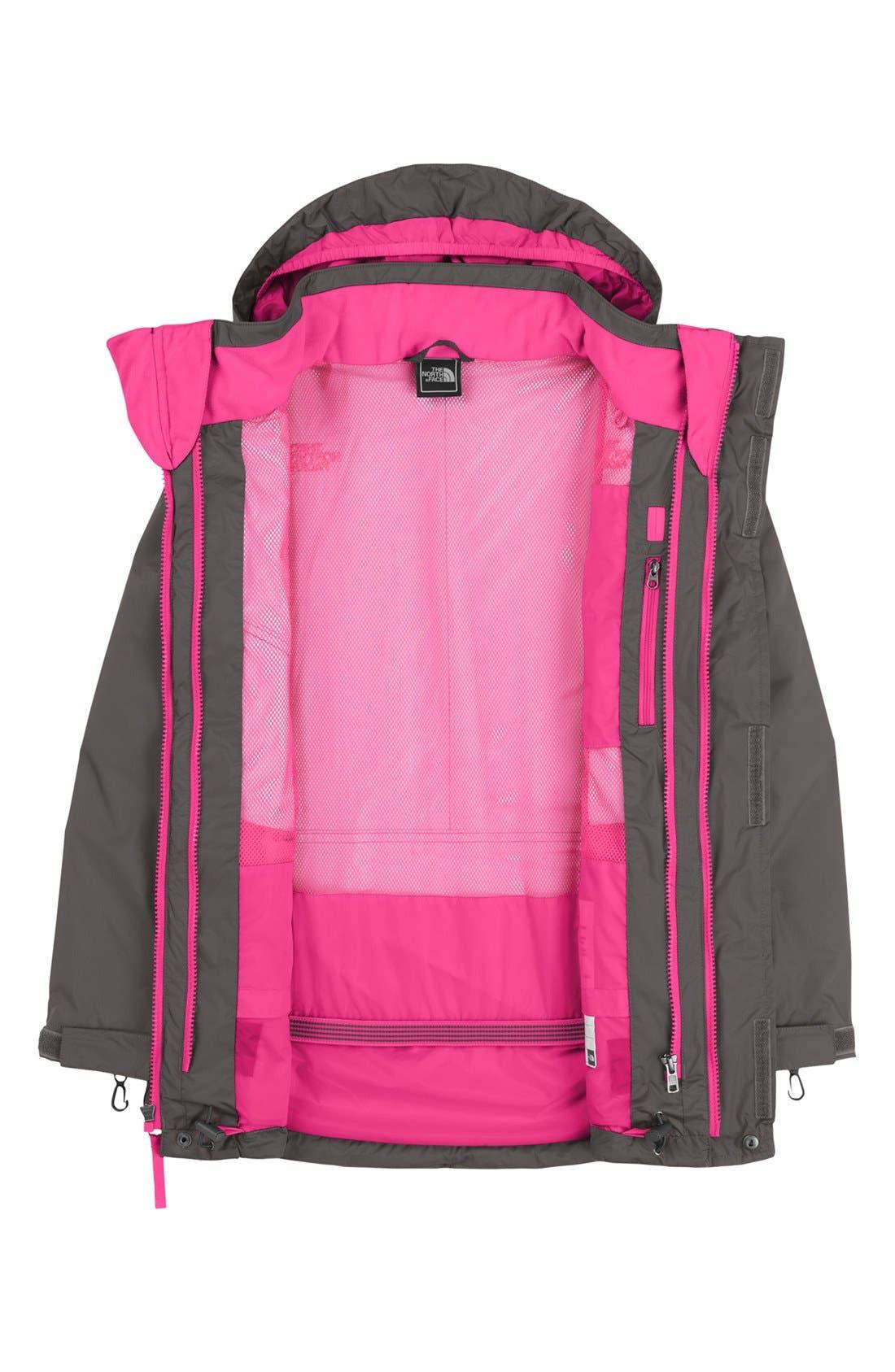 Alternate Image 3  - The North Face 'Maraboo Triclimate®' Waterproof Heatseeker™ Aero Snow Sport Jacket (Little Girls & Big Girls)