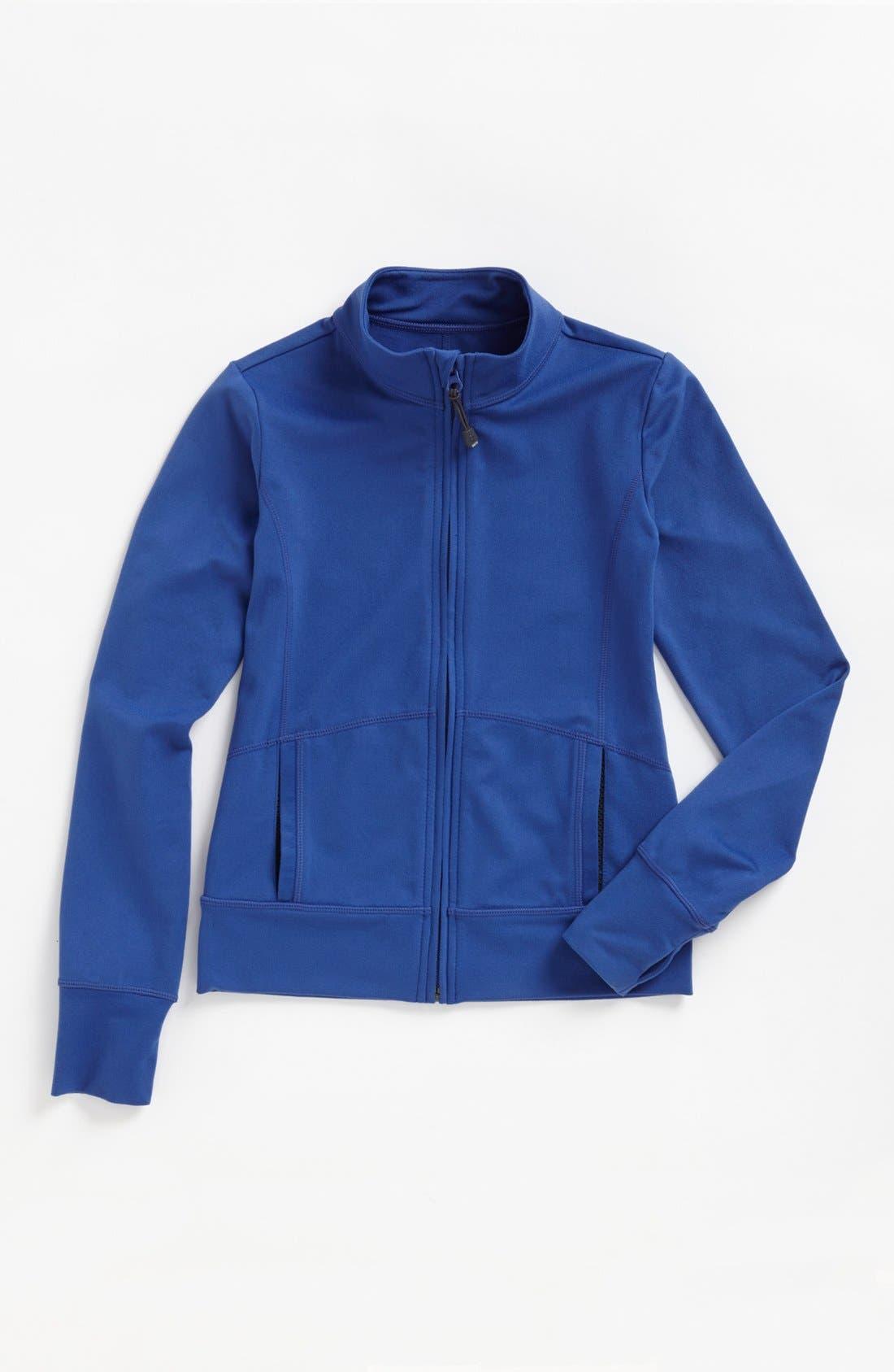 Alternate Image 1 Selected - Zella 'Everyday' Jacket (Little Girls & Big Girls)