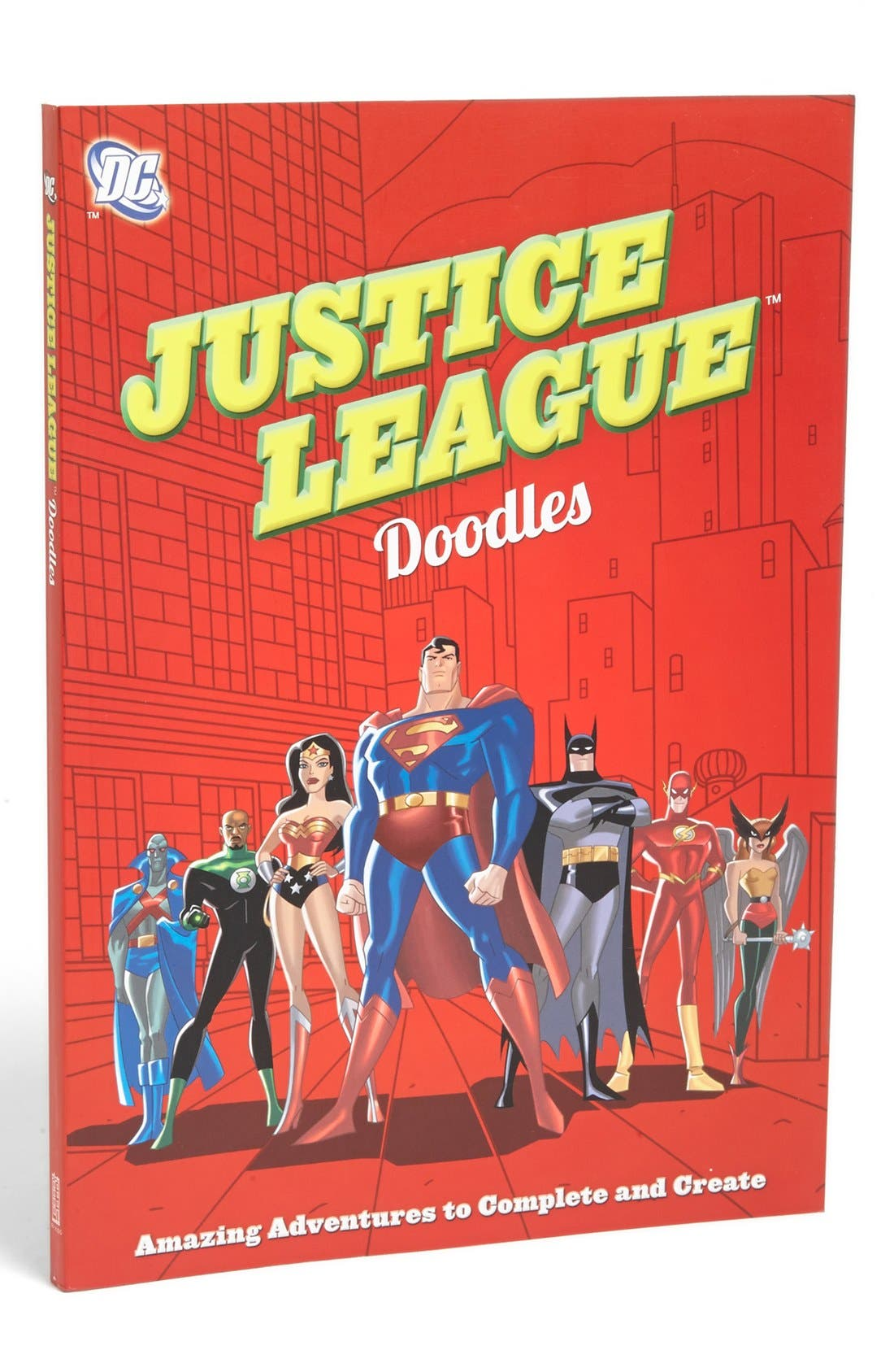 Alternate Image 1 Selected - 'Justice League' Doodle Book