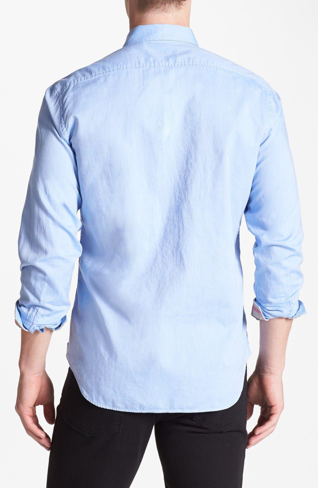 Alternate Image 2  - Burberry Brit 'Fred' Modern Fit Oxford Cotton Sport Shirt
