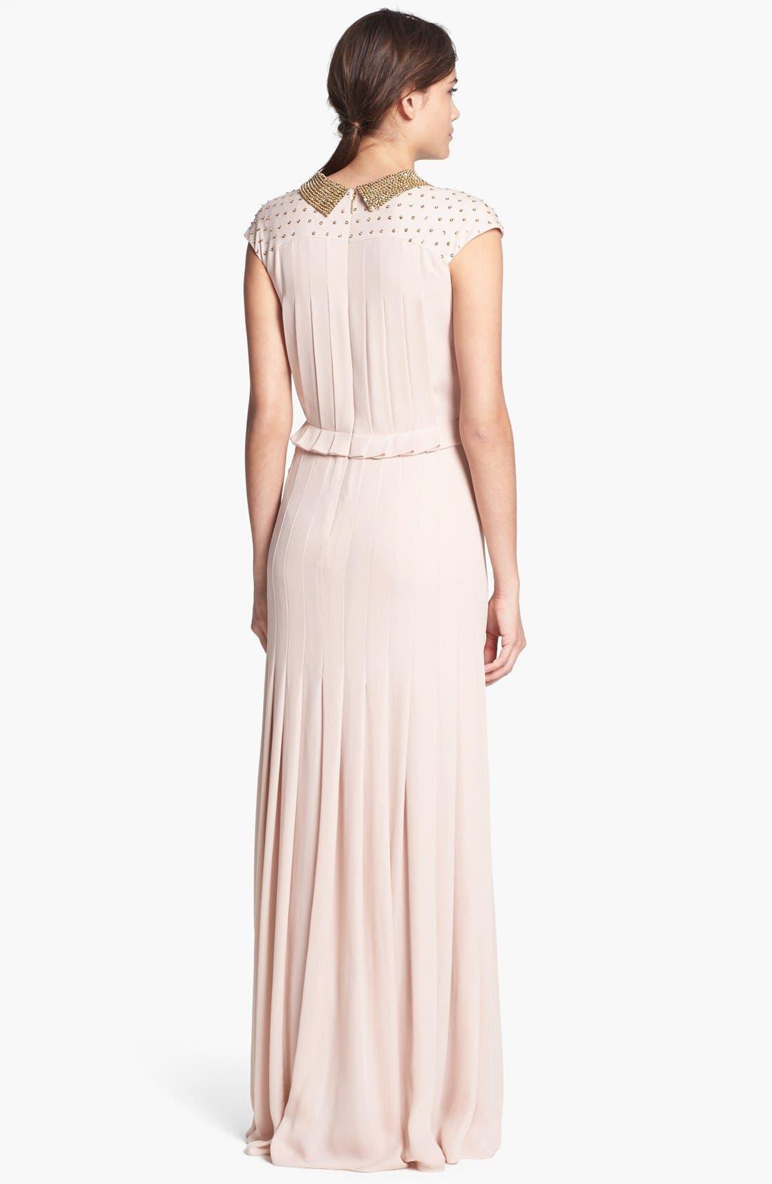 Alternate Image 2  - Tory Burch 'Tatum' Silk Dress