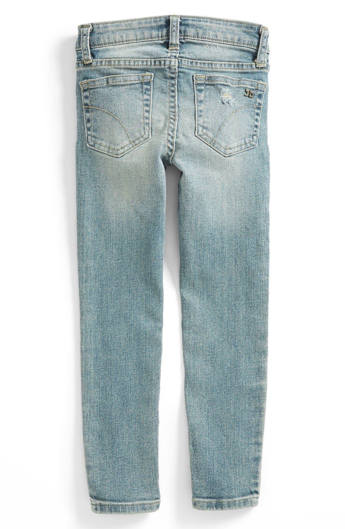 Alternate Image 2  - Joe's Skinny Jeans (Little Girls)