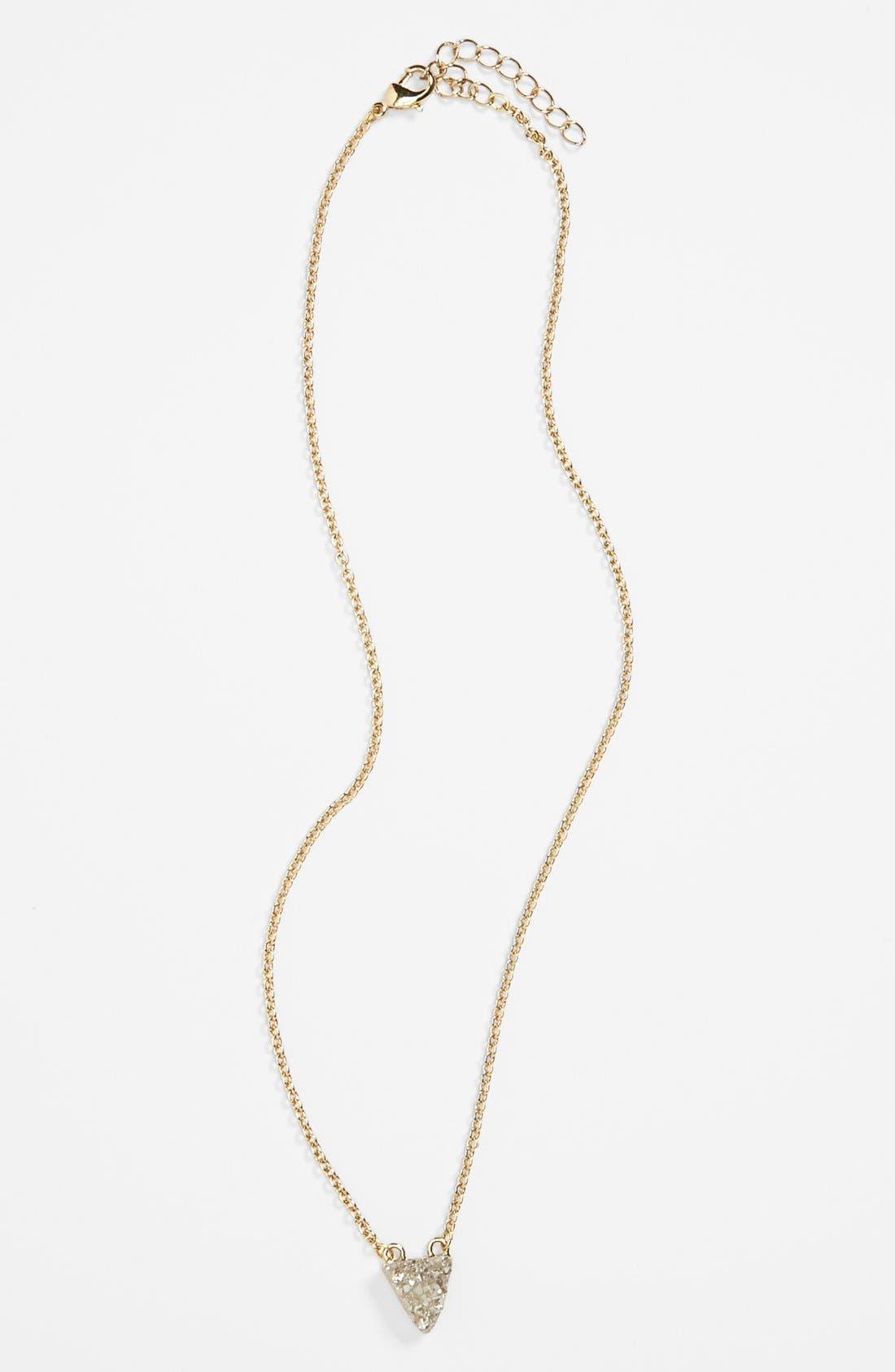 Main Image - Stephan & Co. Stone Pendant Necklace (Juniors)