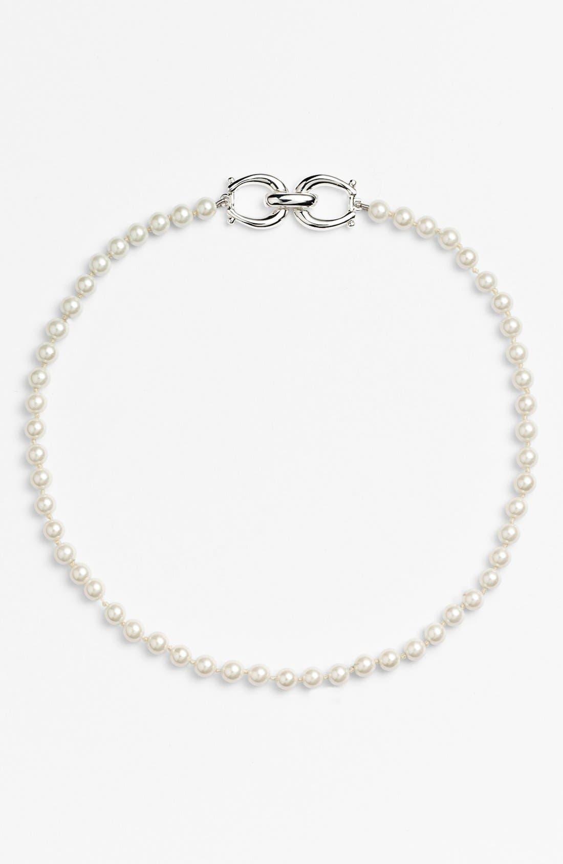Alternate Image 2  - Lauren Ralph Lauren Glass Pearl Necklace