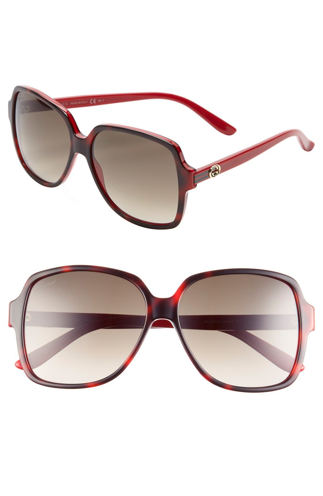 Main Image - Gucci 57mm Sunglasses