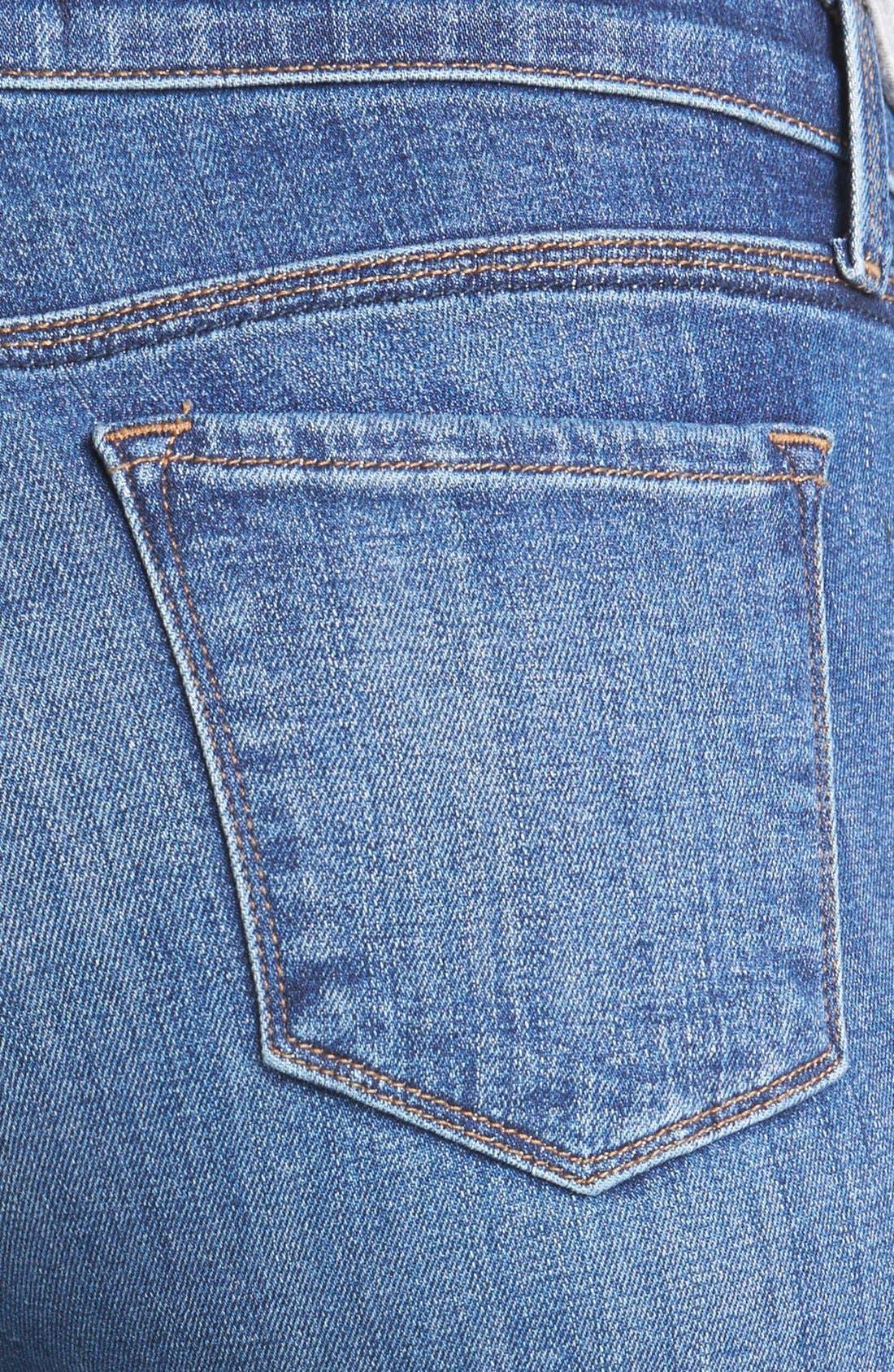 Alternate Image 3  - J Brand '620' Mid-Rise Skinny Jeans (Refuge)