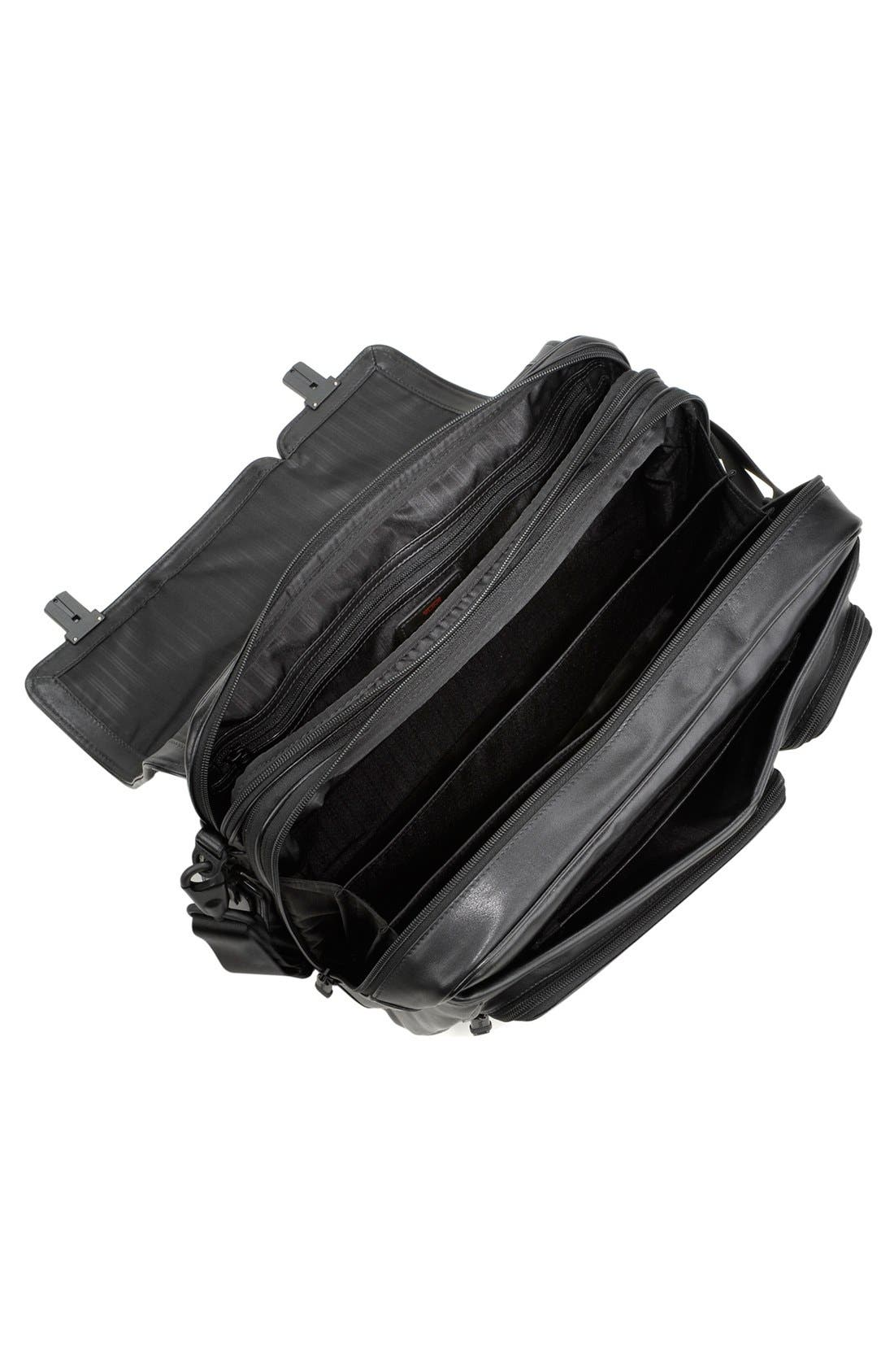 Alternate Image 3  - Tumi 'Alpha' Split Flap Expandable Leather Briefcase