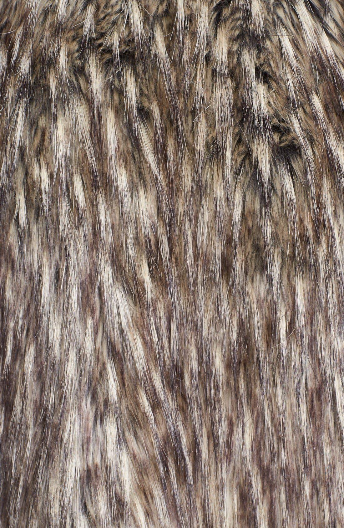 Alternate Image 3  - Nanette Lepore 'Vagabond' Faux Fur Jacket