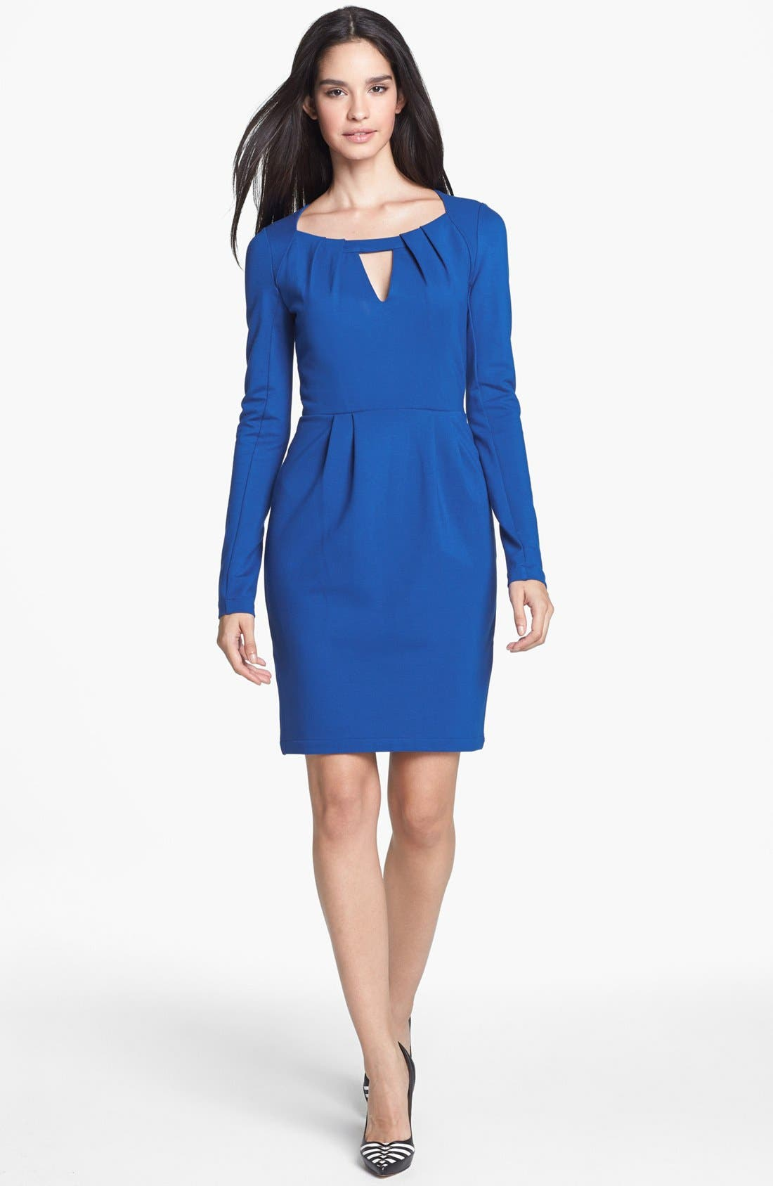 Main Image - French Connection 'Marie' Ponte Knit Sheath Dress