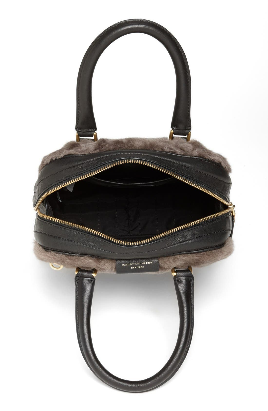 Alternate Image 3  - MARC BY MARC JACOBS 'Show Group Clover' Genuine Shearling Crossbody Bag
